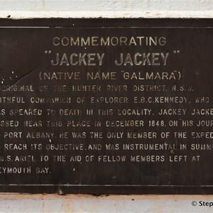 Jackey Jackey Memorial