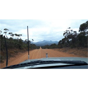 Western Lookout turnoff