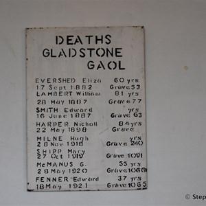Gladstone Historic Goal