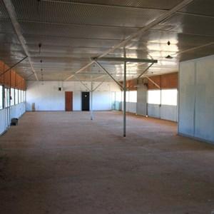 Maralinga Airstrip - terminal interior