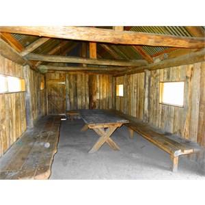 Bluff Hut interior 2016