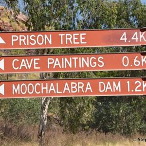 King River Rd & Moochalabra Dam Entry