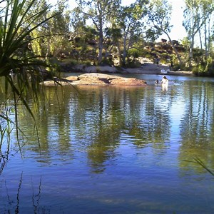 Swimming Hole at Manning Gorge Campsite