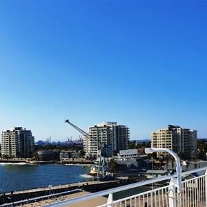Residential blocks at Station Pier, Port Melbourne