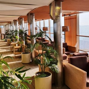 The top lounge deck on Spirit I