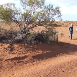 Mokari Airstrip Grave
