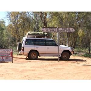 Mt Dare Track - SA-NT Border