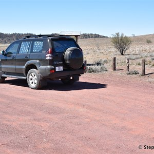 Wilpena Solar Starting Point and Carpark