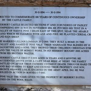 Castle Family Memorial
