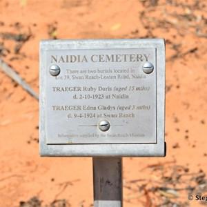 Naidia Roadside Cemetery Marker