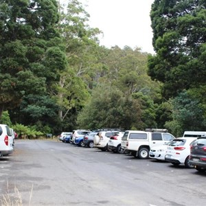Parking at the visitor centre