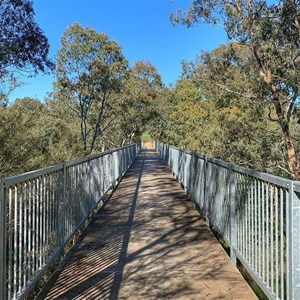 Bridge over King Parrot Creek