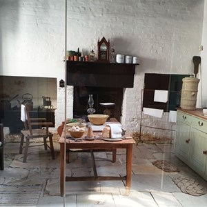 The kitchen of the commandants house