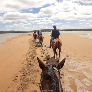 Ride into the Murchison River