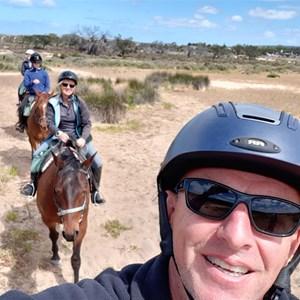 Gentle easy trail ride