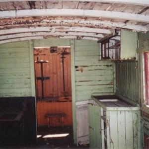 Interior of a wagon