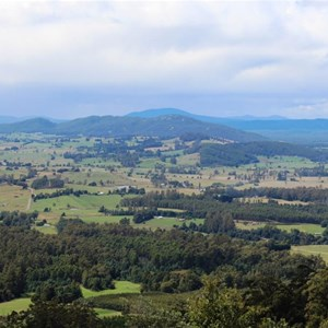 View from Sideling Lookout
