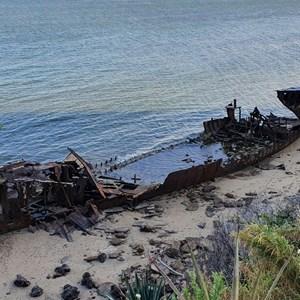 Gayndah Wreck Site