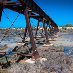 Old Ghan Warriner Creek Rail Bridge (Oct 2016)