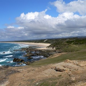 Looking south from Broom's Head