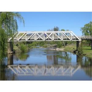 Old Wooden Bridge Bendemeer NSW