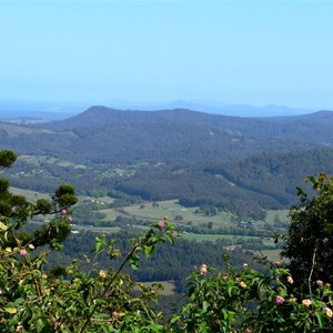 View from Mt Coramba