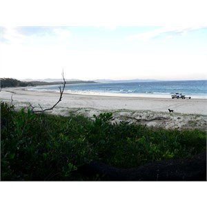 Beach at Wenonah Head