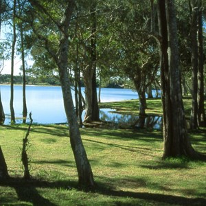 Lake Cathie River