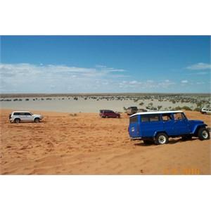 """""""Big Red"""" sand dune outside Birdsville"""
