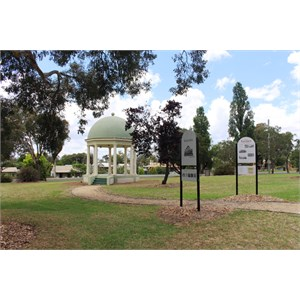 The park at Kndos