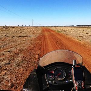 Gazetted Road via the 'back gate'