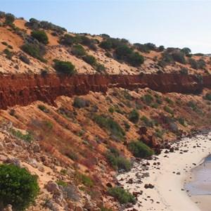 Cliff colours