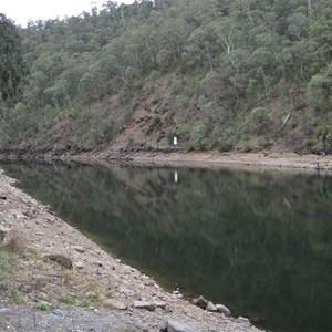 Talbingo backwaters flooding site