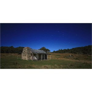 Brayshaw's Hut, by night