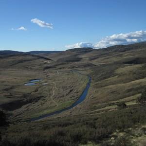 Eucumbene River on northern flanks