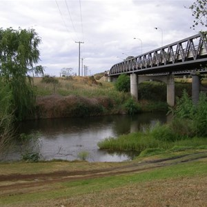 Hunter River Bridge at Aberdeen