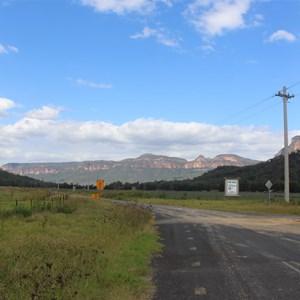The road into Glen Davis