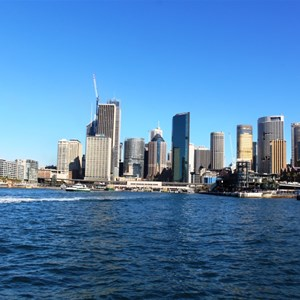 Circular Quay is a major transport hub.