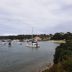 Ulladulla Harbour and beach