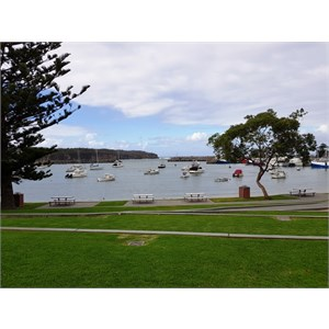 The sheltered anchorage of Ulladulla Harbour