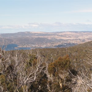 View east to Jindabyne