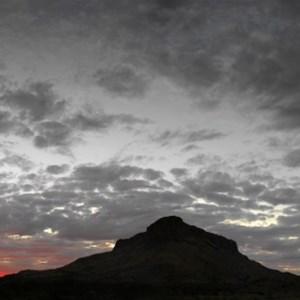 Mt Leisler panorama at sunset