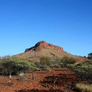 Mt Leisler in the morning