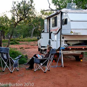 Campground at Jervois Station