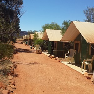 Kings creek station tents