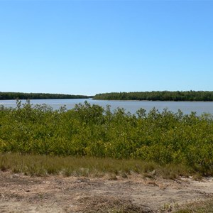 Burketown - plenty of tidal rivers lined with mangroves