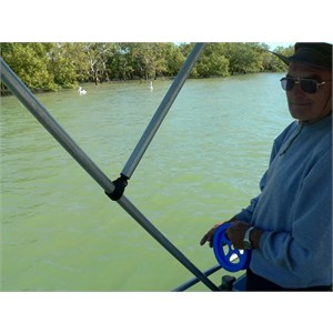Fishing charter at Burketown