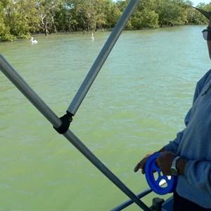 Fishing charter at Burketown