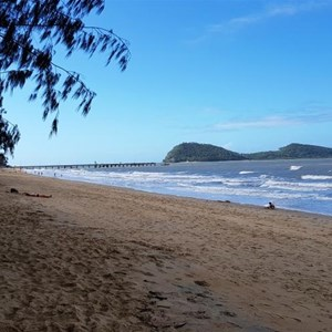 Palm Cove Beach - northwards view