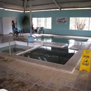 Innot Springs indoor hot pools